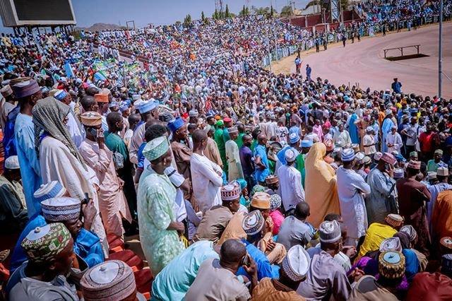 Hotunan yakin neman zaben Buhari a jihar Bauchi