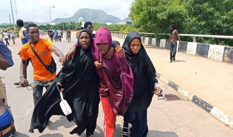 Hoto:Arangamar yan shi'a da jami'an tsaro da jami'an tsaro a Abuja
