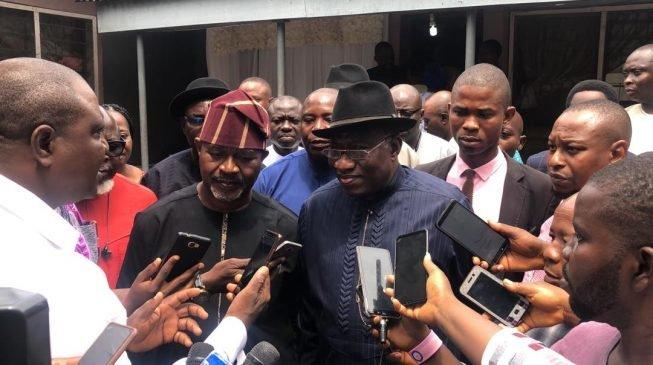 Matsalar tsaro na kara ta'azzara a gwamnatin Buhari – Jonathan